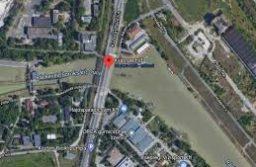 Bomba hatástalanítás a Kvassay hídnál